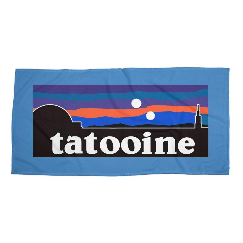Parody Design #1 Accessories Beach Towel by Mike Hampton's T-Shirt Shop