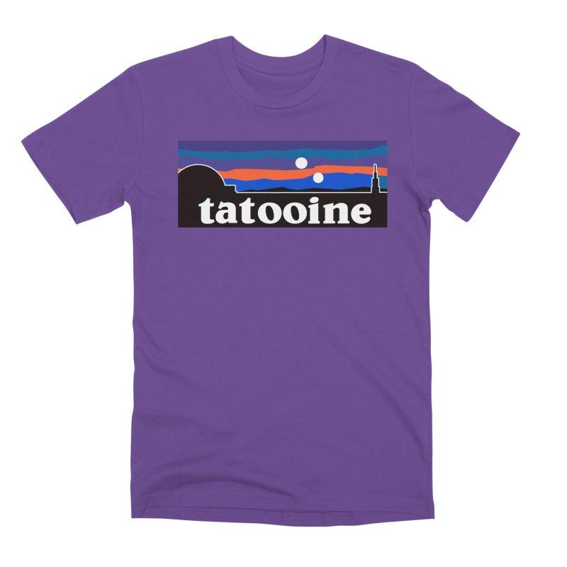 Parody Design #1 Men's Premium T-Shirt by Mike Hampton's T-Shirt Shop