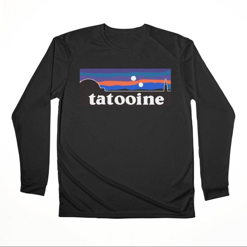 Parody Design #1 Women's Performance Unisex Longsleeve T-Shirt by Mike Hampton's T-Shirt Shop