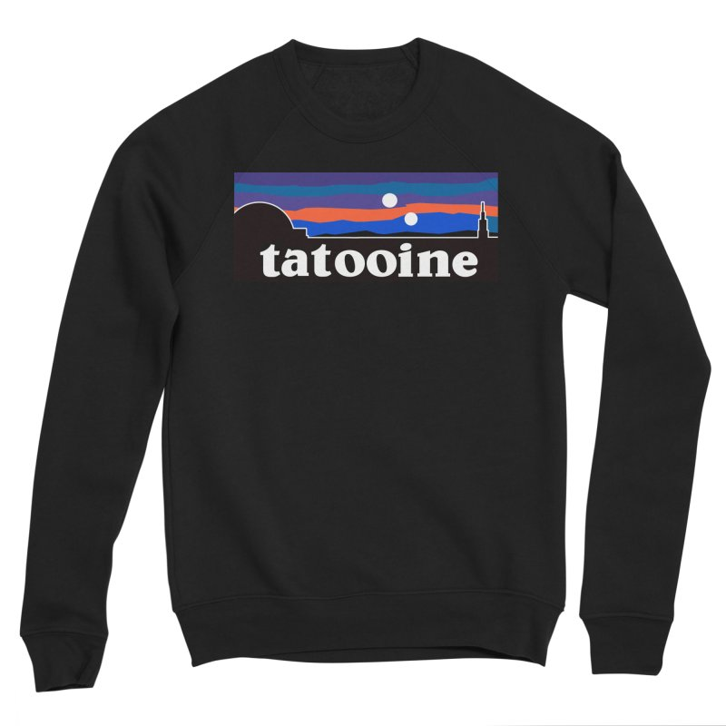 Parody Design #1 Men's Sponge Fleece Sweatshirt by Mike Hampton's T-Shirt Shop