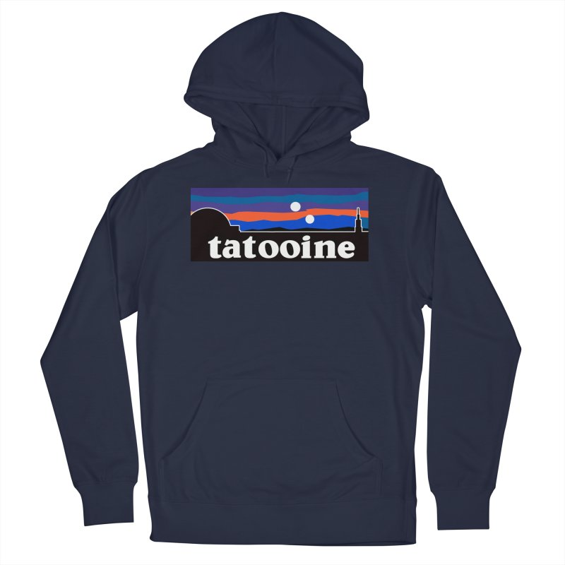 Parody Design #1 Men's French Terry Pullover Hoody by Mike Hampton's T-Shirt Shop