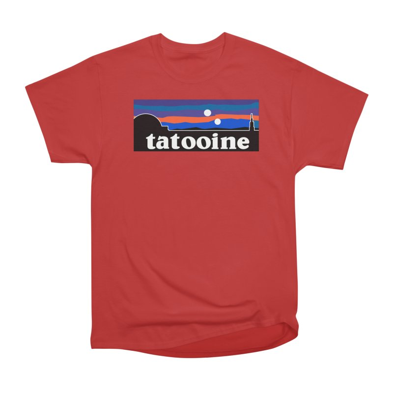 Parody Design #1 Women's Heavyweight Unisex T-Shirt by Mike Hampton's T-Shirt Shop