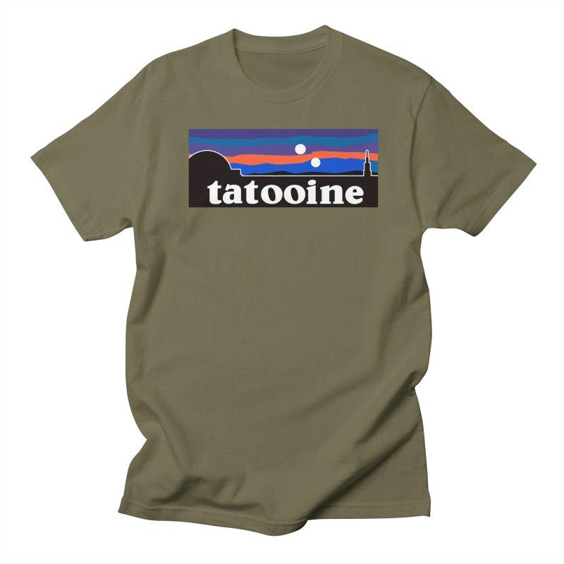 Parody Design #1 Men's Regular T-Shirt by Mike Hampton's T-Shirt Shop