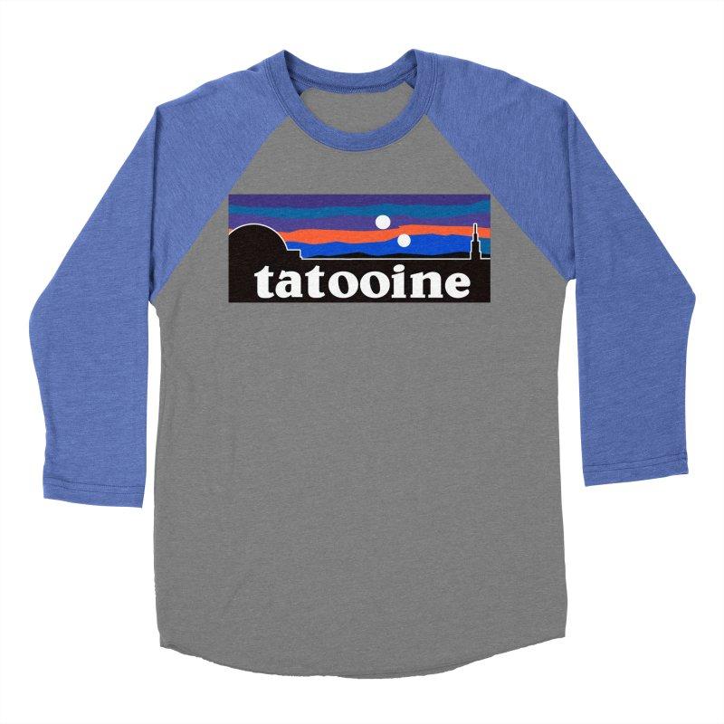 Parody Design #1 Women's Baseball Triblend Longsleeve T-Shirt by Mike Hampton's T-Shirt Shop