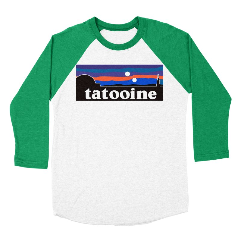 Parody Design #1 Men's Baseball Triblend Longsleeve T-Shirt by Mike Hampton's T-Shirt Shop