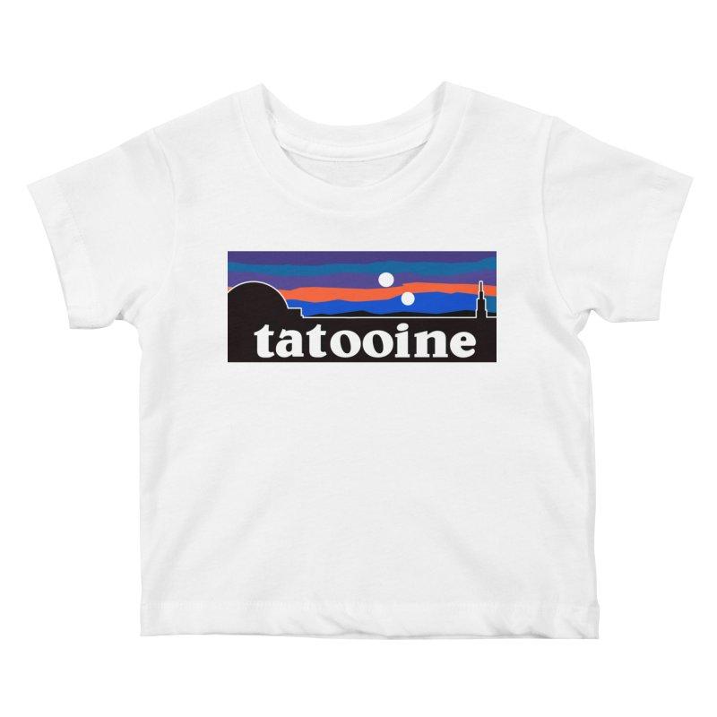 Parody Design #1 Kids Baby T-Shirt by Mike Hampton's T-Shirt Shop