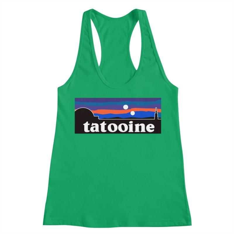 Parody Design #1 Women's Tank by Mike Hampton's T-Shirt Shop