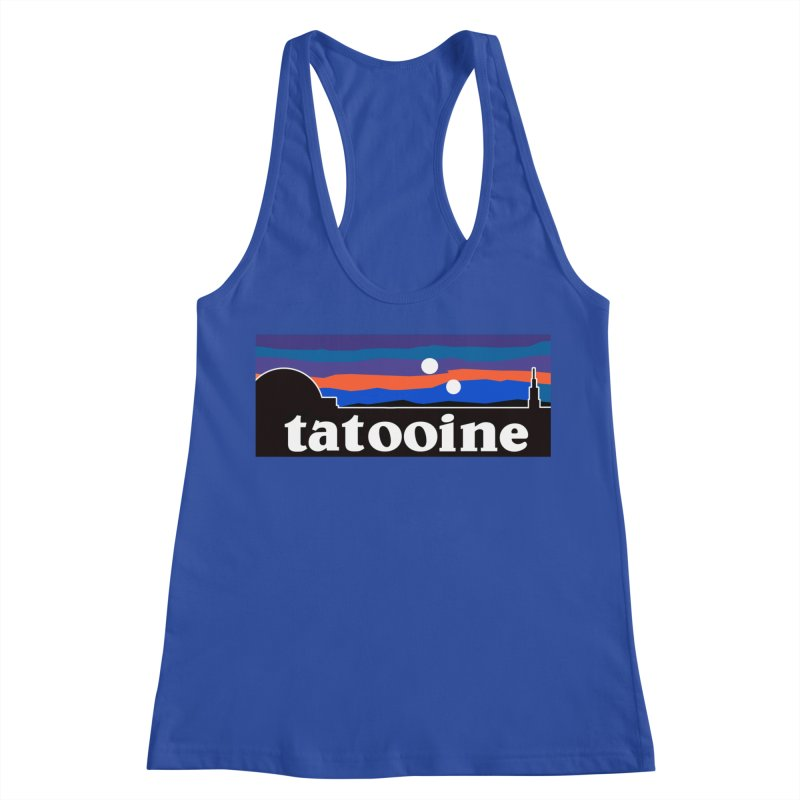 Parody Design #1 Women's Racerback Tank by Mike Hampton's T-Shirt Shop