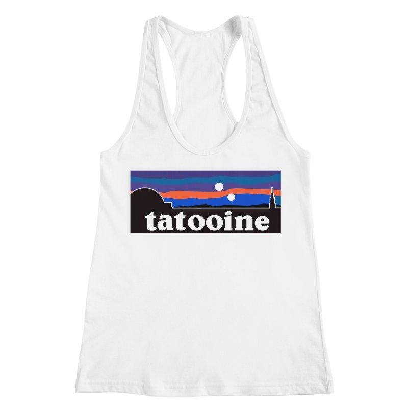 Parody Design #1 Women's Racerback Tank by Mike Hampton's T-Shirt Shop