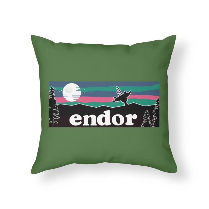 Parody Design #2 Home Throw Pillow by Mike Hampton's T-Shirt Shop