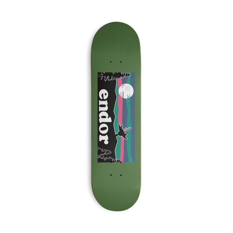 Parody Design #2 Accessories Skateboard by Mike Hampton's T-Shirt Shop