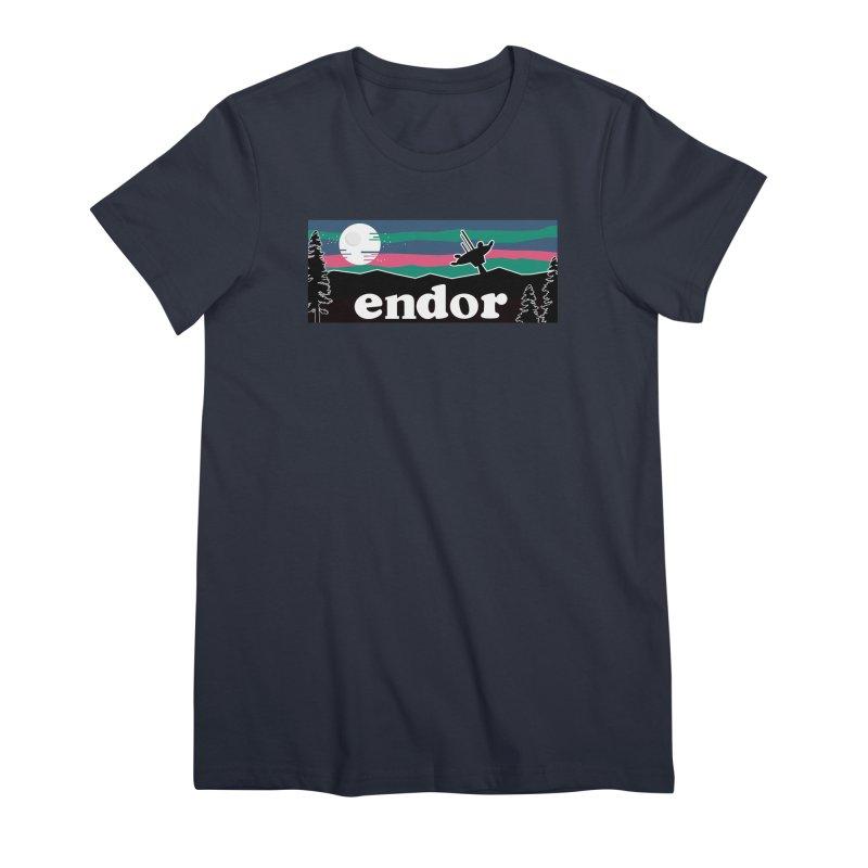 Parody Design #2 Women's Premium T-Shirt by Mike Hampton's T-Shirt Shop