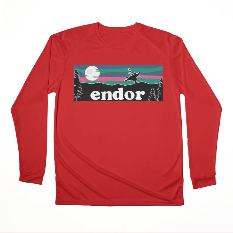 Parody Design #2 Women's Performance Unisex Longsleeve T-Shirt by Mike Hampton's T-Shirt Shop