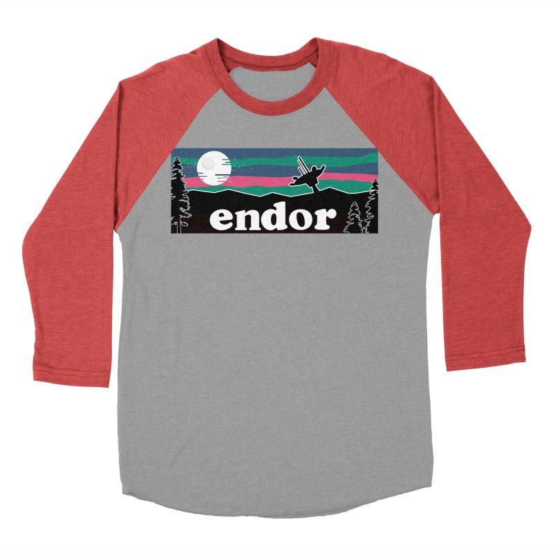 Parody Design #2 Men's Baseball Triblend Longsleeve T-Shirt by Mike Hampton's T-Shirt Shop