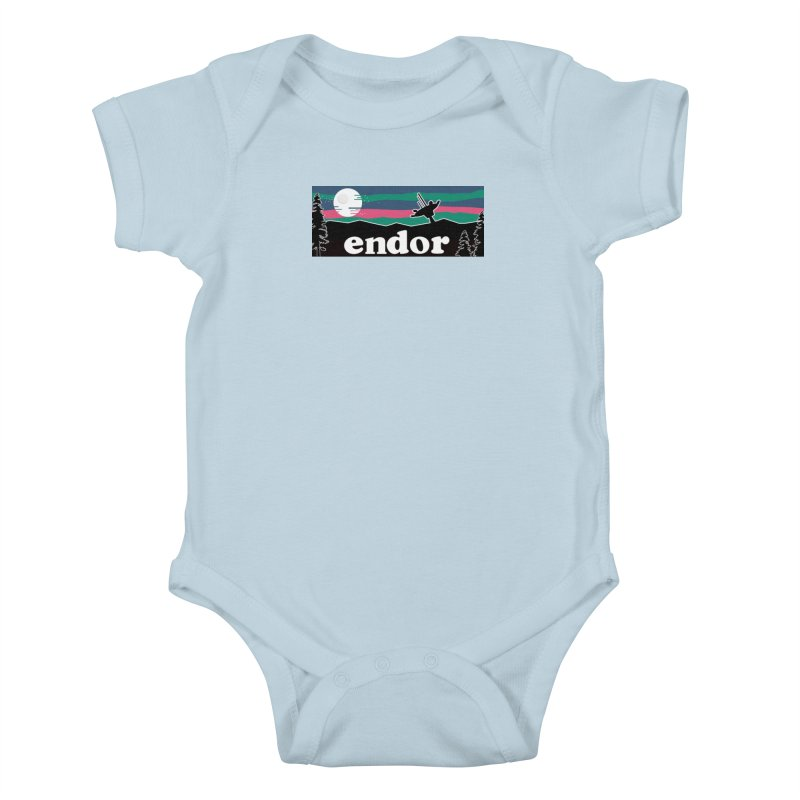 Parody Design #2 Kids Baby Bodysuit by Mike Hampton's T-Shirt Shop