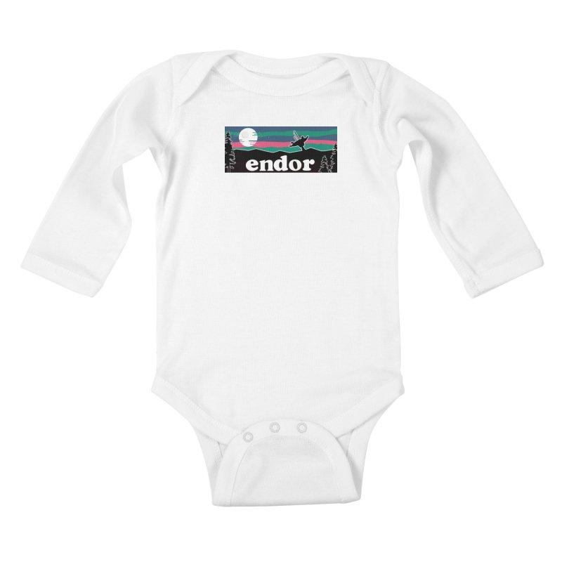 Parody Design #2 Kids Baby Longsleeve Bodysuit by Mike Hampton's T-Shirt Shop