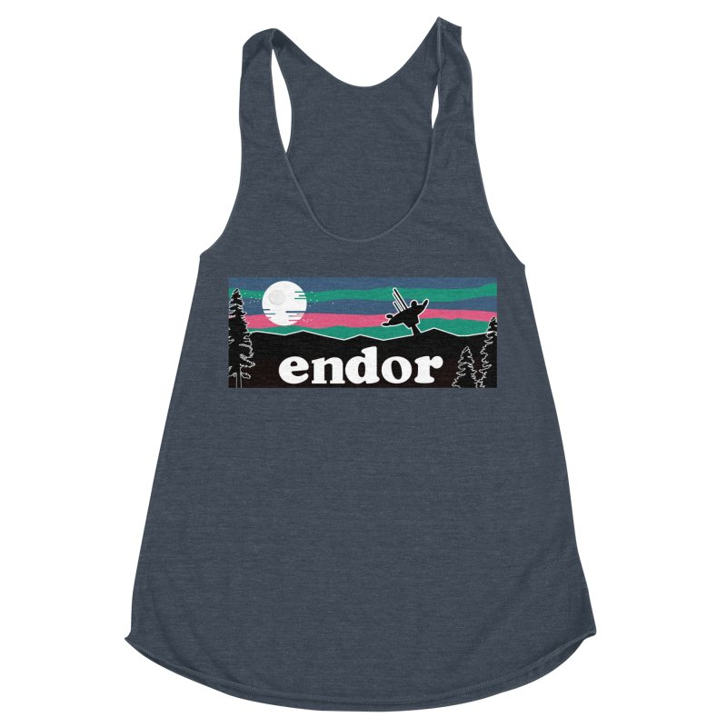 Parody Design #2 Women's Racerback Triblend Tank by Mike Hampton's T-Shirt Shop