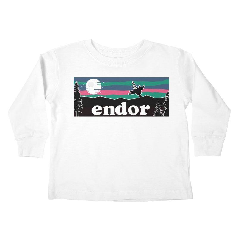 Parody Design #2 Kids Toddler Longsleeve T-Shirt by Mike Hampton's T-Shirt Shop