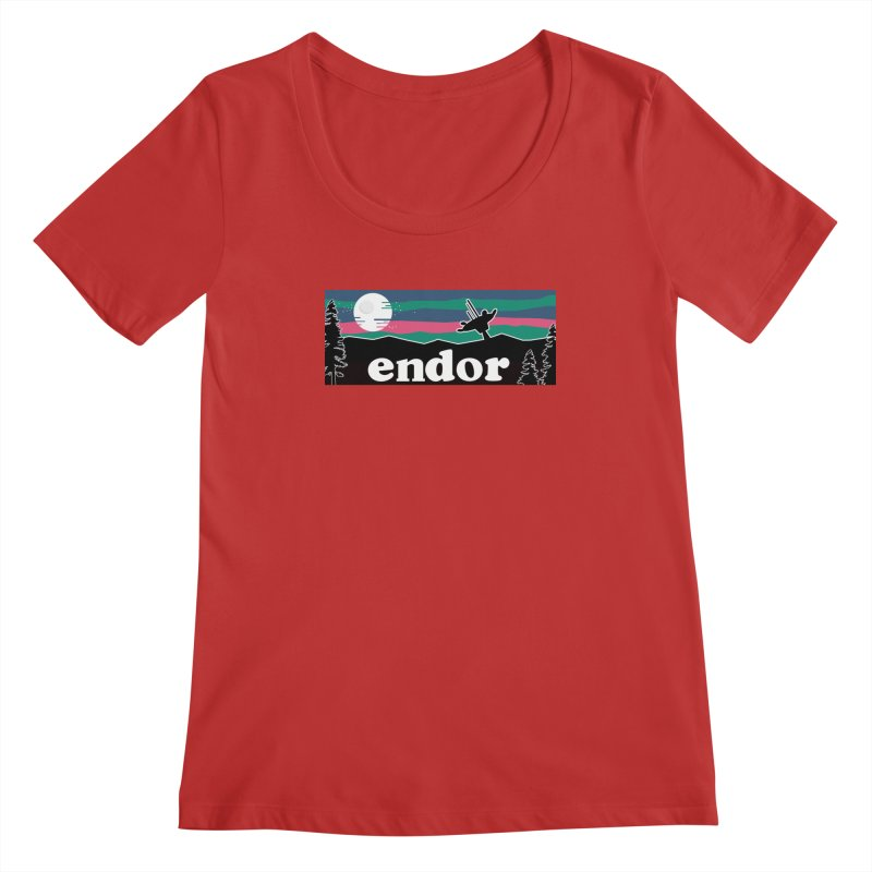 Parody Design #2 Women's Regular Scoop Neck by Mike Hampton's T-Shirt Shop