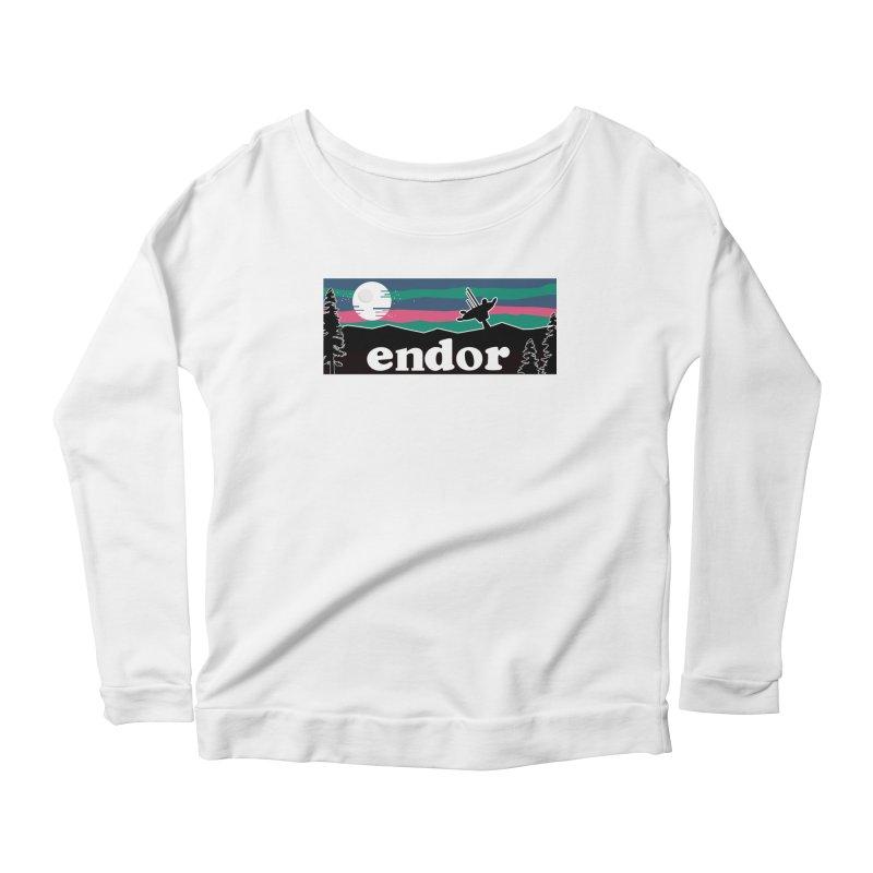 Parody Design #2 Women's Scoop Neck Longsleeve T-Shirt by Mike Hampton's T-Shirt Shop