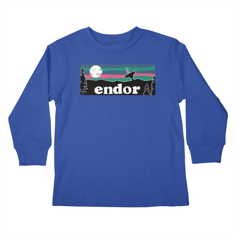 Parody Design #2 Kids Longsleeve T-Shirt by Mike Hampton's T-Shirt Shop