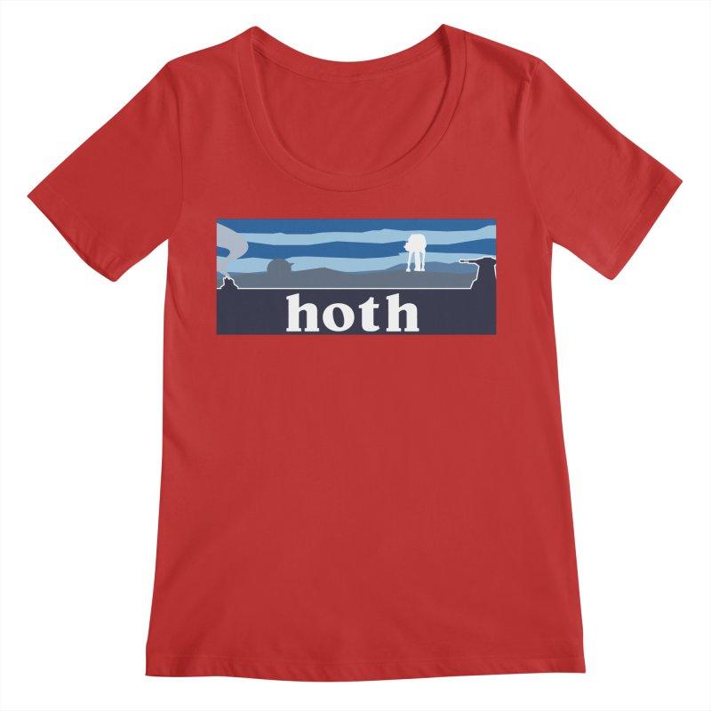 Parody Design #3 Women's Regular Scoop Neck by Mike Hampton's T-Shirt Shop