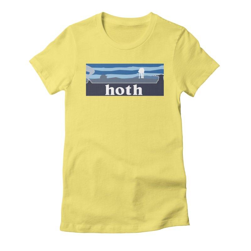 Parody Design #3 Women's Fitted T-Shirt by Mike Hampton's T-Shirt Shop
