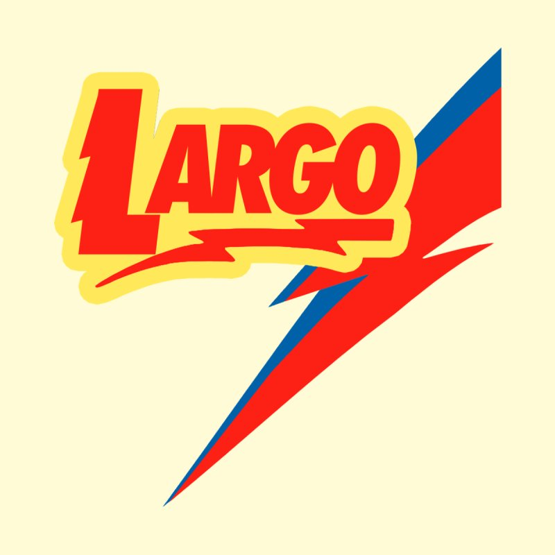 Largo Largo Men's T-Shirt by Mike Hampton's T-Shirt Shop