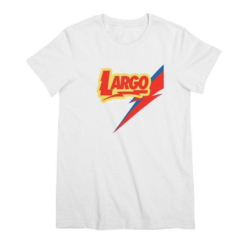 Largo Largo Women's Premium T-Shirt by Mike Hampton's T-Shirt Shop