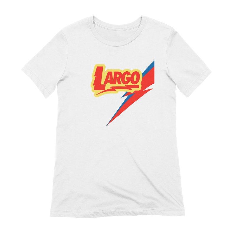 Largo Largo Women's Extra Soft T-Shirt by Mike Hampton's T-Shirt Shop