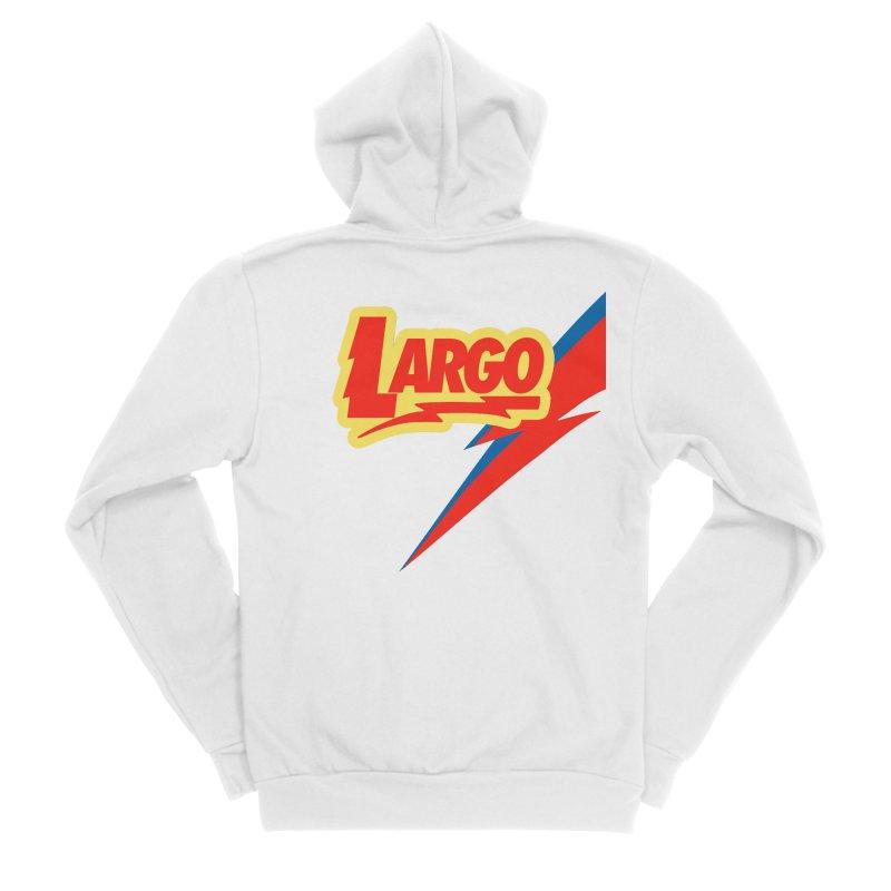 Largo Largo Women's Sponge Fleece Zip-Up Hoody by Mike Hampton's T-Shirt Shop