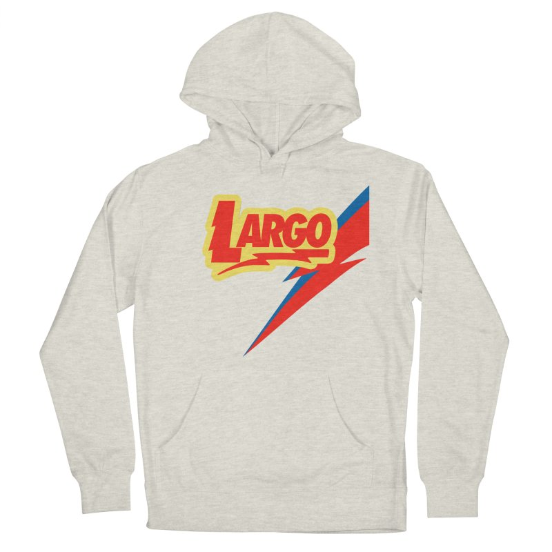 Largo Largo Women's French Terry Pullover Hoody by Mike Hampton's T-Shirt Shop