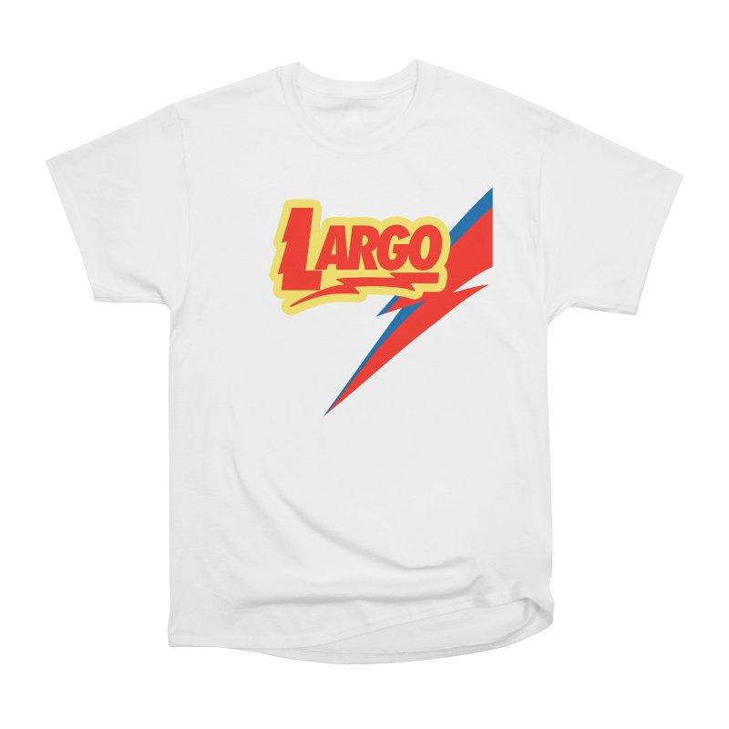 Largo Largo Women's Heavyweight Unisex T-Shirt by Mike Hampton's T-Shirt Shop