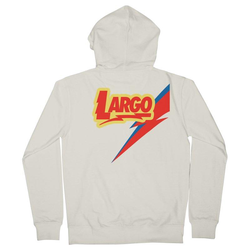 Largo Largo Women's French Terry Zip-Up Hoody by Mike Hampton's T-Shirt Shop