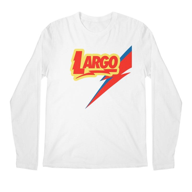 Largo Largo Men's Regular Longsleeve T-Shirt by Mike Hampton's T-Shirt Shop