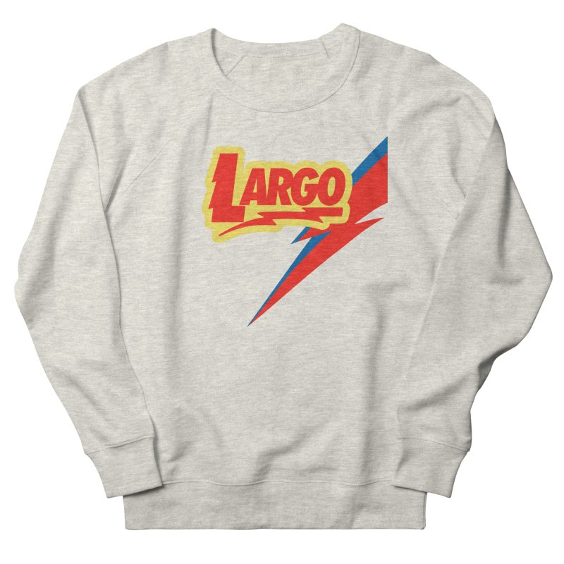 Largo Largo Women's French Terry Sweatshirt by Mike Hampton's T-Shirt Shop