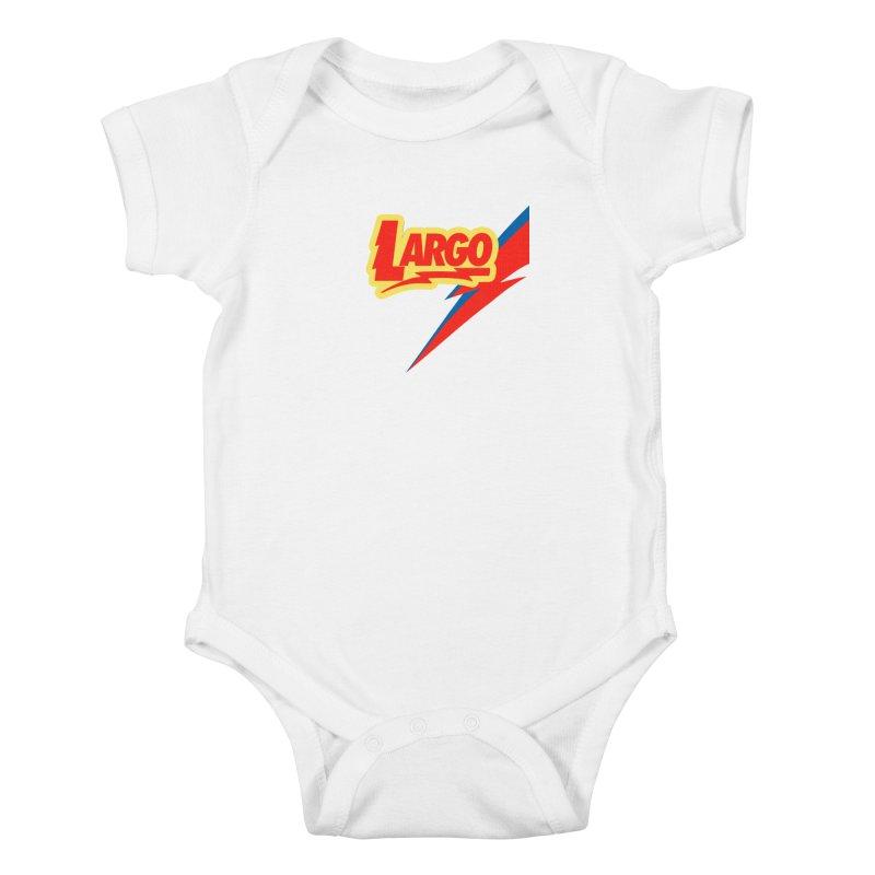 Largo Largo Kids Baby Bodysuit by Mike Hampton's T-Shirt Shop