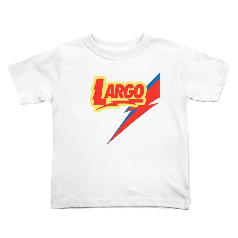 Largo Largo Kids Toddler T-Shirt by Mike Hampton's T-Shirt Shop