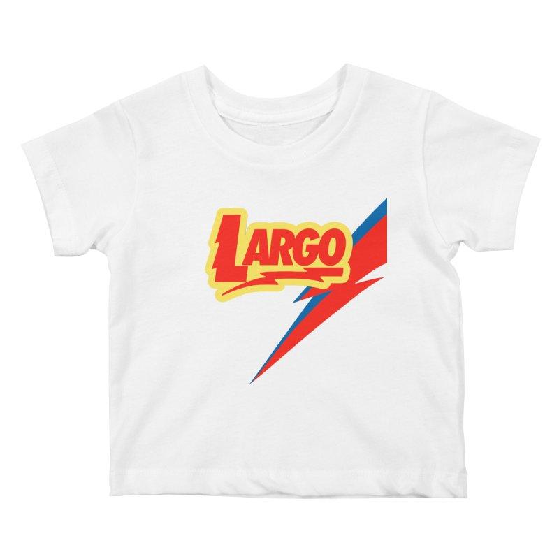 Largo Largo Kids Baby T-Shirt by Mike Hampton's T-Shirt Shop