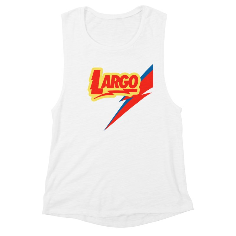 Largo Largo Women's Muscle Tank by Mike Hampton's T-Shirt Shop