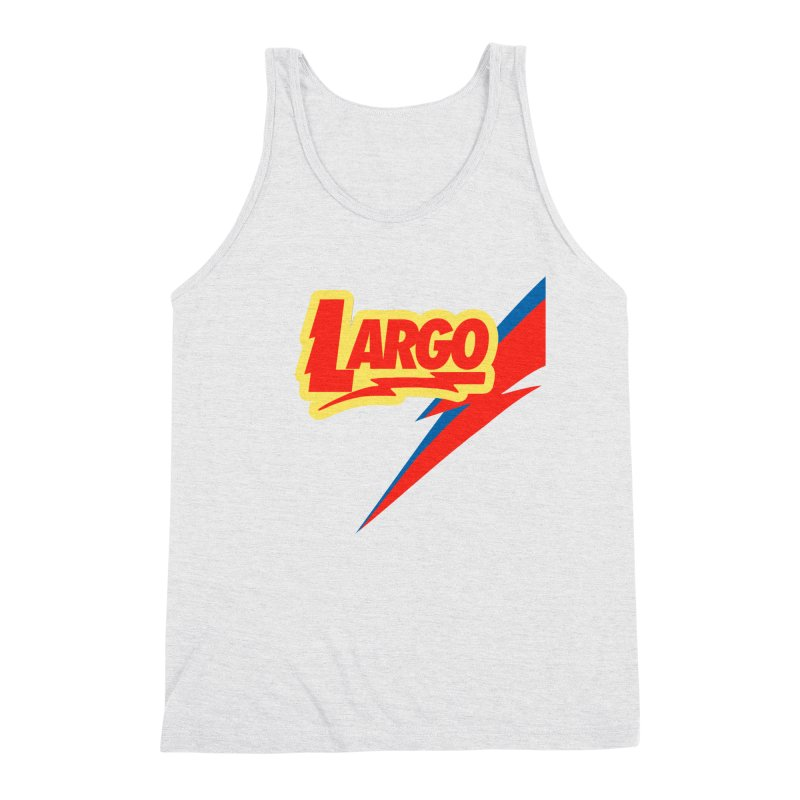 Largo Largo Men's Triblend Tank by Mike Hampton's T-Shirt Shop