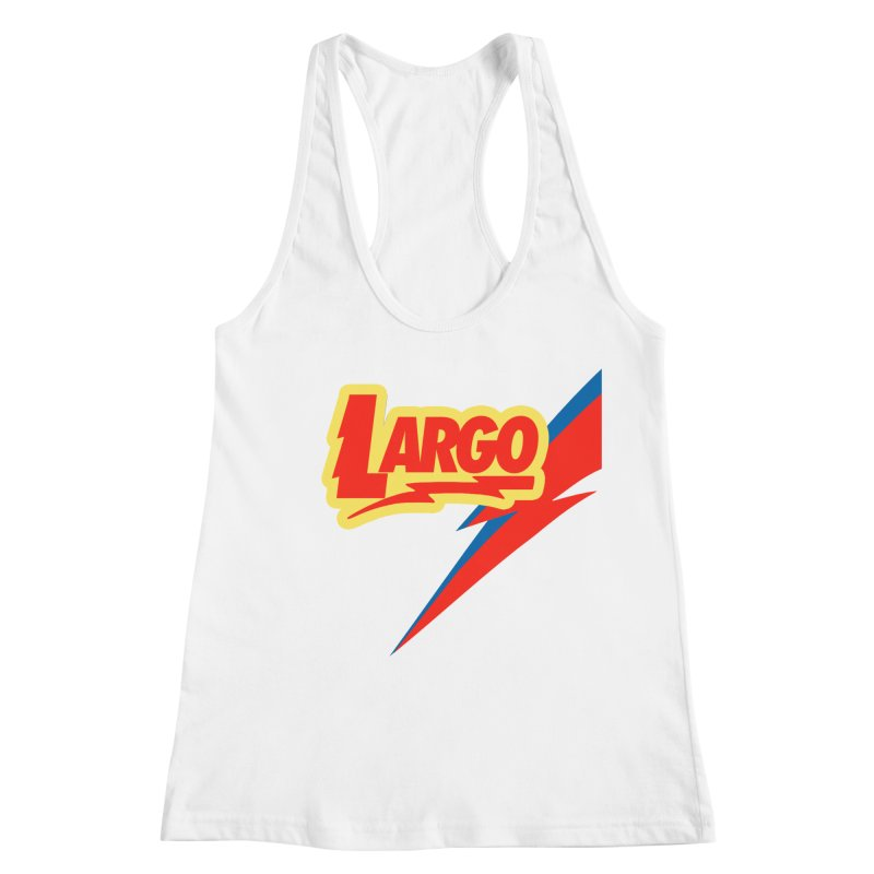 Largo Largo Women's Racerback Tank by Mike Hampton's T-Shirt Shop