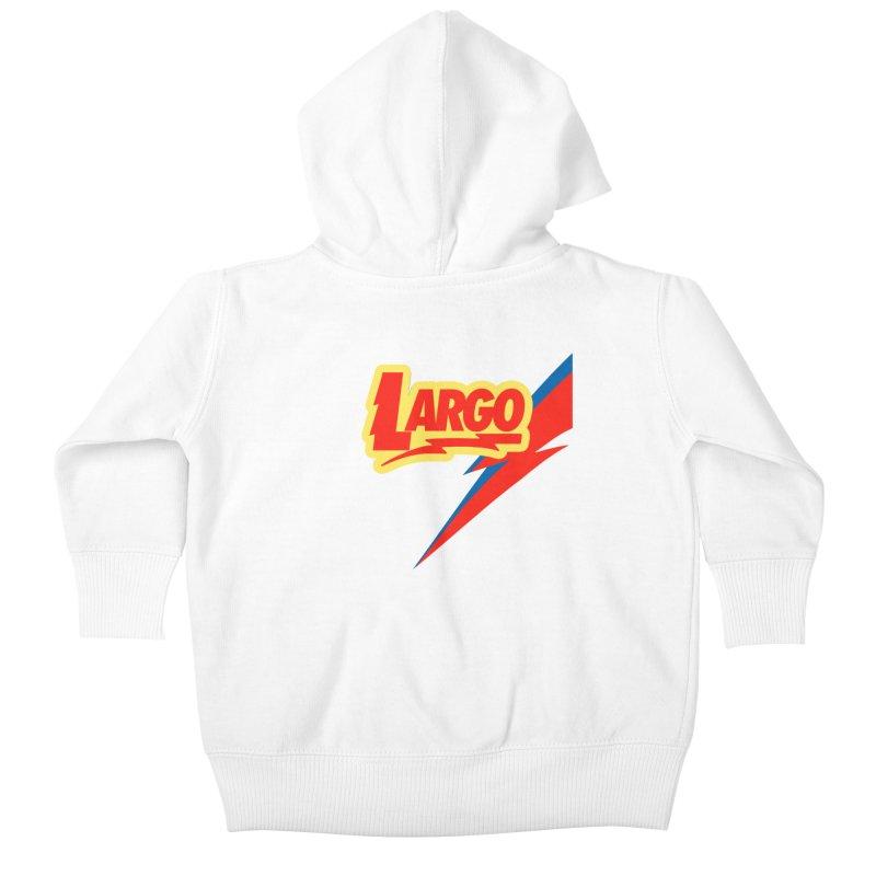 Largo Largo Kids Baby Zip-Up Hoody by Mike Hampton's T-Shirt Shop