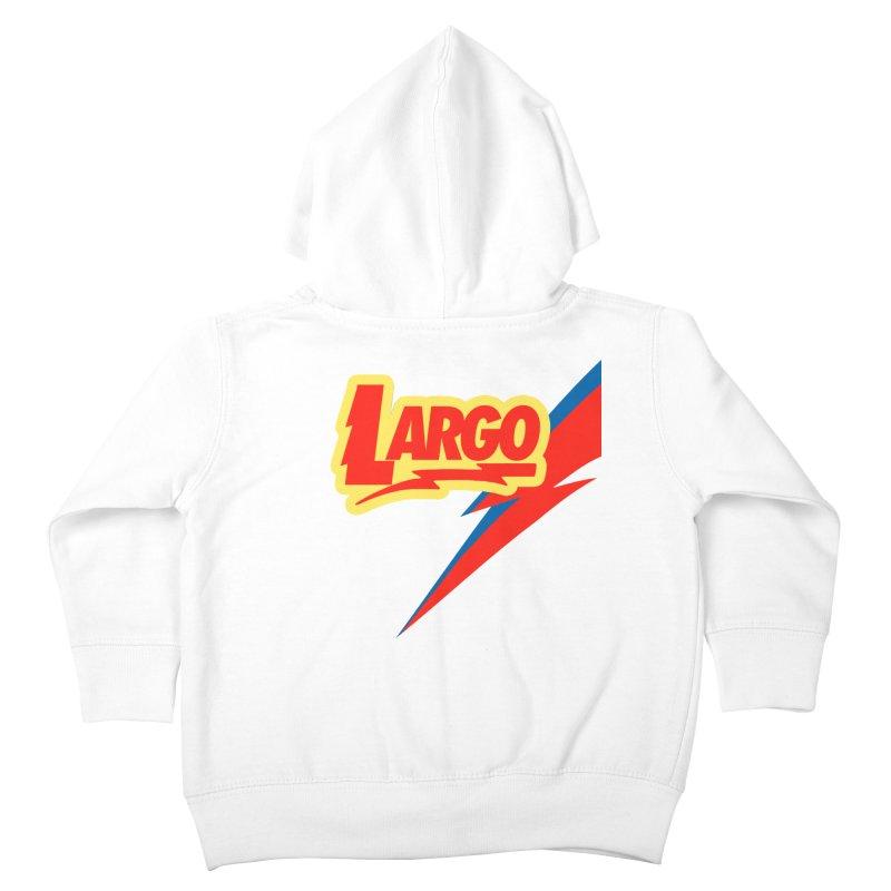 Largo Largo Kids Toddler Zip-Up Hoody by Mike Hampton's T-Shirt Shop