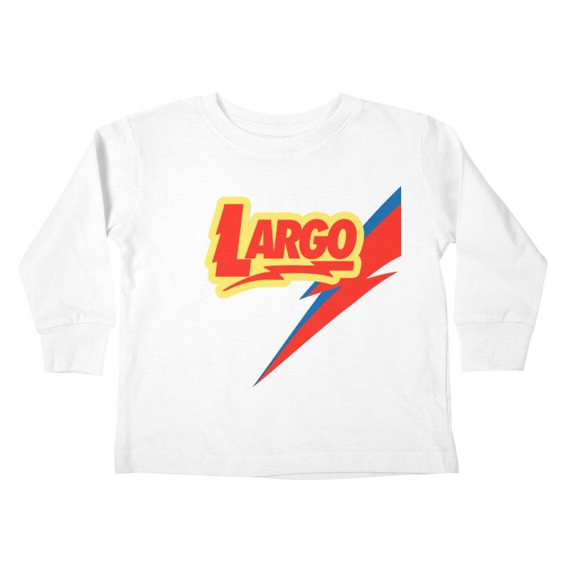 Largo Largo Kids Toddler Longsleeve T-Shirt by Mike Hampton's T-Shirt Shop
