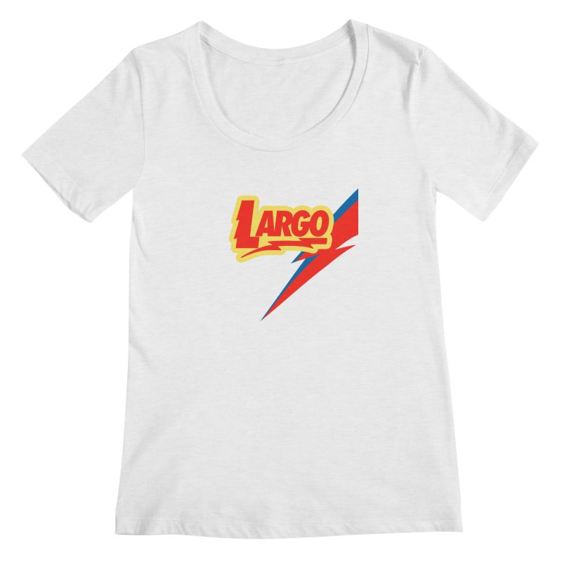 Largo Largo Women's Regular Scoop Neck by Mike Hampton's T-Shirt Shop