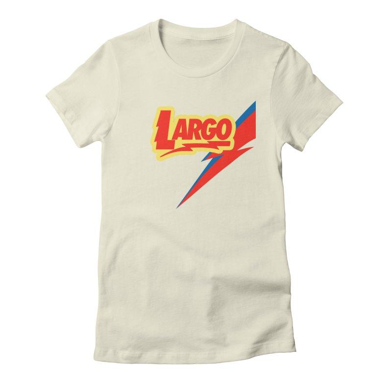 Largo Largo Women's Fitted T-Shirt by Mike Hampton's T-Shirt Shop