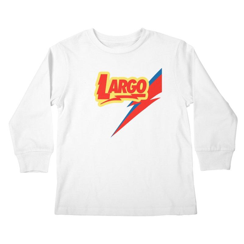 Largo Largo Kids Longsleeve T-Shirt by Mike Hampton's T-Shirt Shop