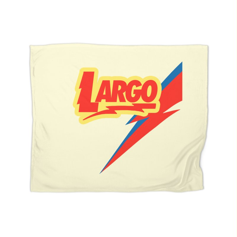 Largo Largo Home Fleece Blanket Blanket by Mike Hampton's T-Shirt Shop
