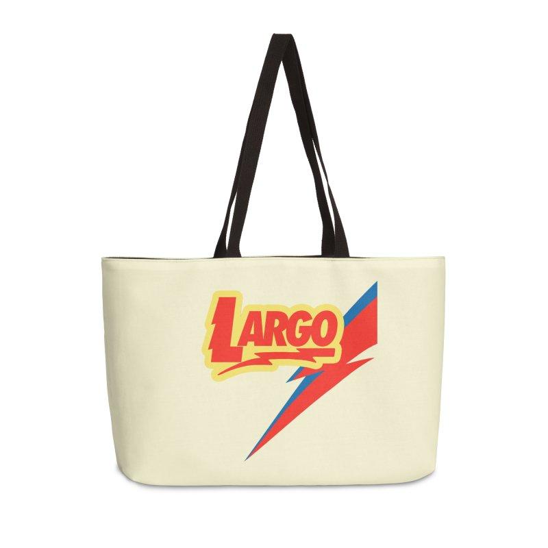 Largo Largo Accessories Weekender Bag Bag by Mike Hampton's T-Shirt Shop